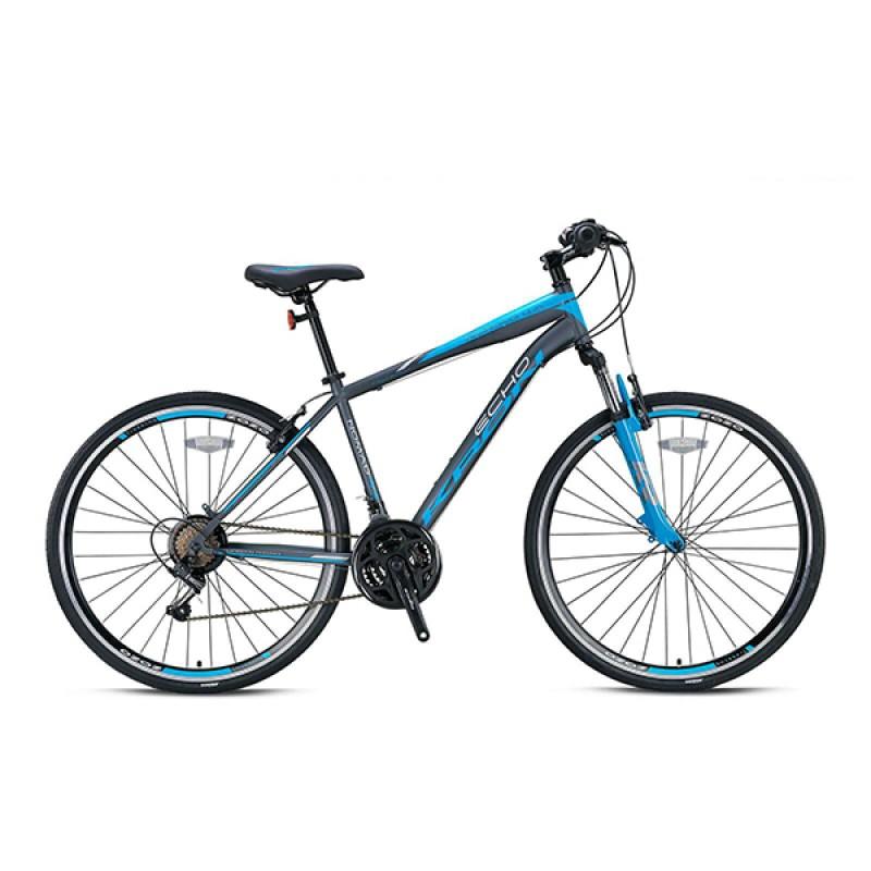 Ποδήλατο Kron Nomad 4.0 TRK 28'' 21sp V.B. Matt Smoke-Grey/Blue