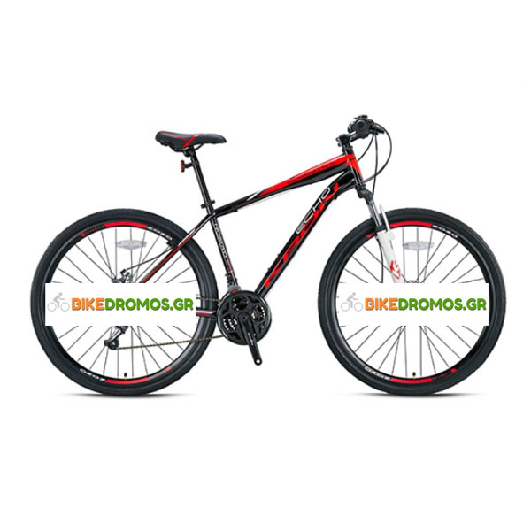 Kron Nomad 4.0 TRK 28'' 21sp V.B. Matt Smoke-Grey/Red